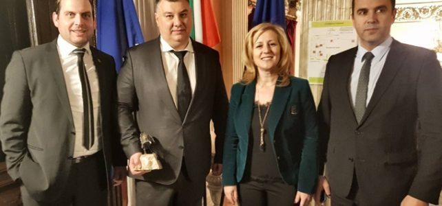 """Костинбродската компания  """"Ролпласт Груп"""" АД бе отличена в категория """"Инвестиция в разширяване на бизнеса"""" на престижните награди """"Инвеститор на годината"""", организирани от Българската агенция за инвестиции (БАИ)"""