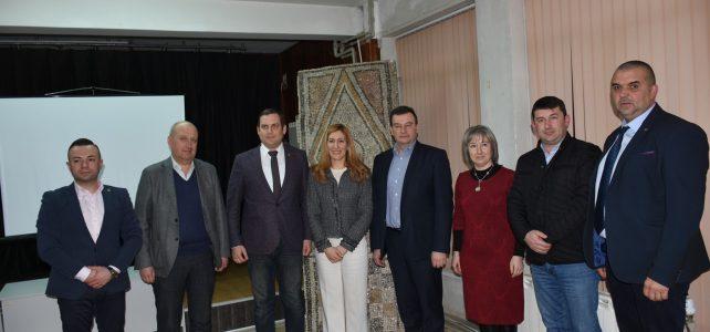 Днес, 11.02.2019г. в община Костинброд се проведе среща с министъра на туризма г-жа Николина Ангелкова