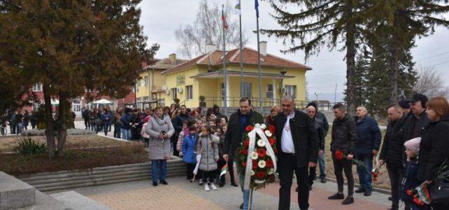 3 март – Ден на Освобождението на България се чества в село Петърч и село Безден