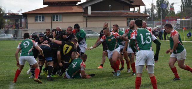 Четирите най-силни отбора по ръгби в България играха полуфинал и финал в град Костинброд