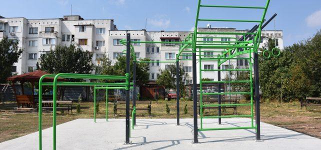 От днес, град Костинброд разполага с две нови площадки за спорт на открито за всички