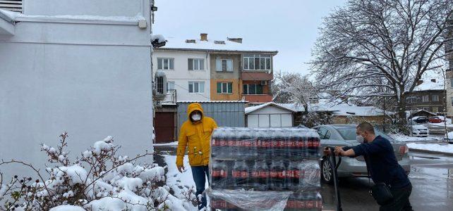 Община Костинброд получи продукти за хората в нужда от Кока-Кола