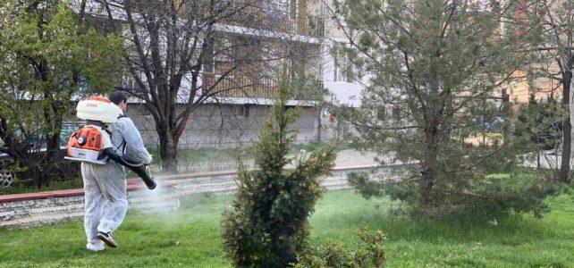 Днес се извърши пръскане срещу кърлежи и комари в община Костинброд