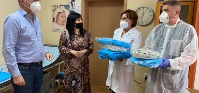 На 11 юни 2020г. Общински съвет – Костинброд направи дарение към общопрактикуващите лекари в Поликлиниката, в град Костинброд