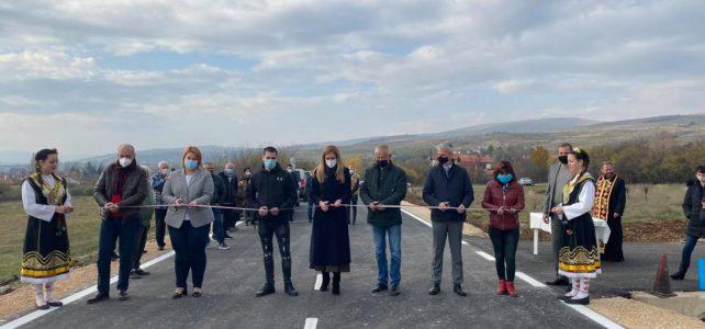 Откри се реновирана пътна отсечка между селата Безден и Богьовци, която свързва двете бързо разрастващи се населени места