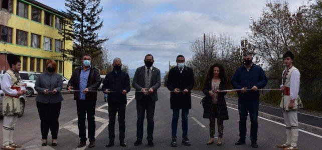 Откри се реновирана пътна отсечка от Ломско шосе посока индустриална зона на гр. Костинброд, с дължина 1,568 километра.