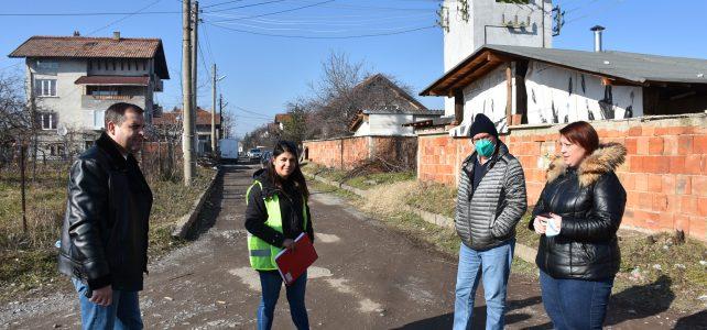 """Започва асфалтиране на ул. """"Пирин"""" и улица """"Витоша"""" в град Костинброд"""