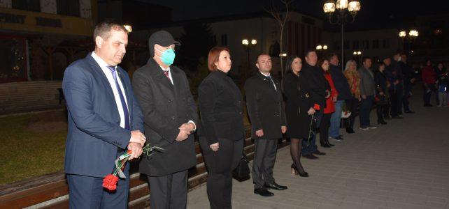 """Тържествена заря – проверка в чест на 143-та годишнина от Освобождението на България се състоя на площад """"Иван Вазов"""", град Костинброд"""
