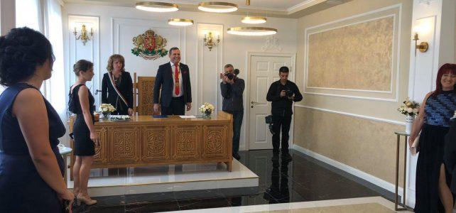 На 19.09.2021г. със сватба се откри новата ритуална зала на община Костинброд!